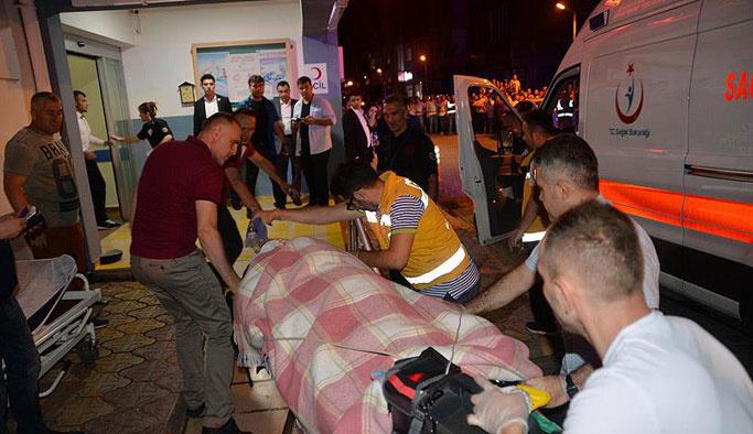 Helikopter kazası yaralıları GATA'ya sevk edildi