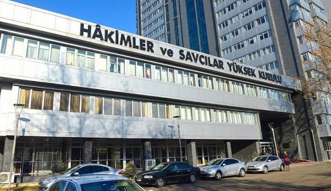 HSYK'da 745 hakim açığa alındı
