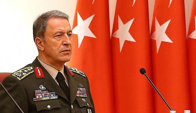 Genelkurmay Başkanı Hulusi Akar'dan basın açıklaması