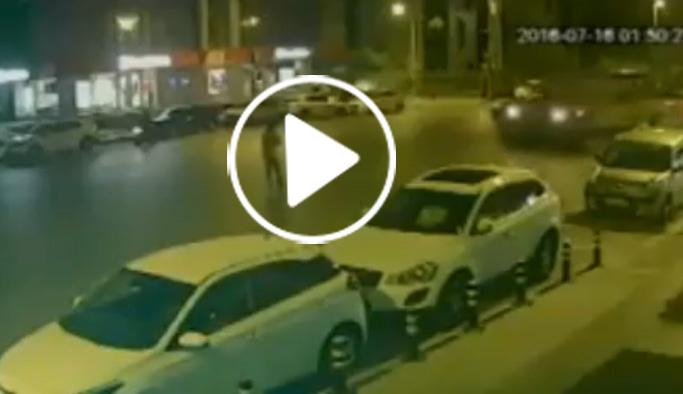 Üzerinden iki tank geçti, ölmedi VIDEO