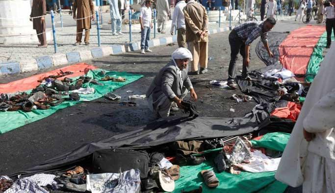IŞİD Afganistan'da saldırdı: 61 sivil öldü