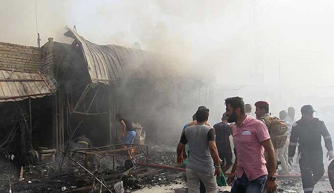 Irak'ta bombalı saldırı, 7 ölü
