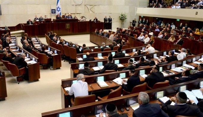 İsrail'den Filistinlileri hedef alan yasa tasarısı