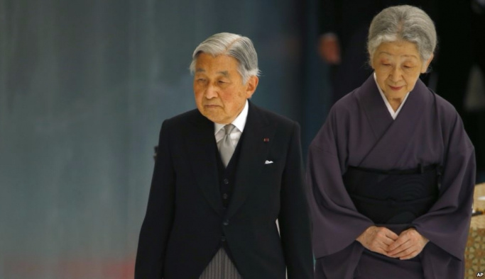 Japonya İmparatoru Akihito tahttan feragat etti