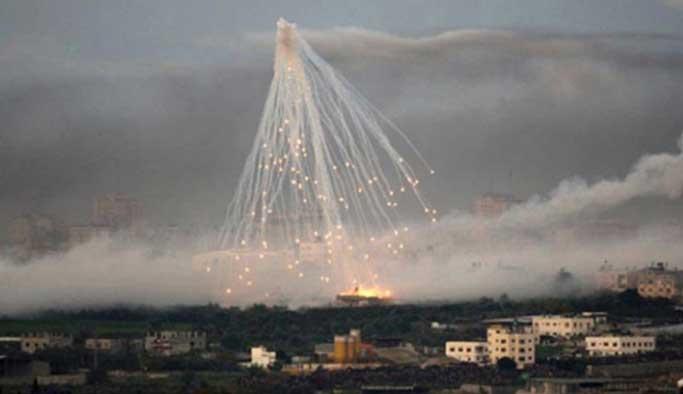 Kamptaki sivillere 'misket bombası'