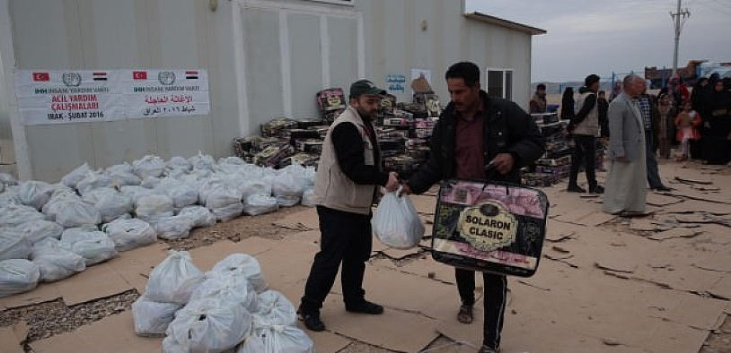 Katar ile İHH işbirliğinde Myanmar'a yardım