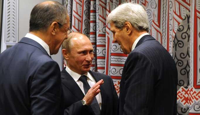 Kerry'den Moskova'da yoğun mesai