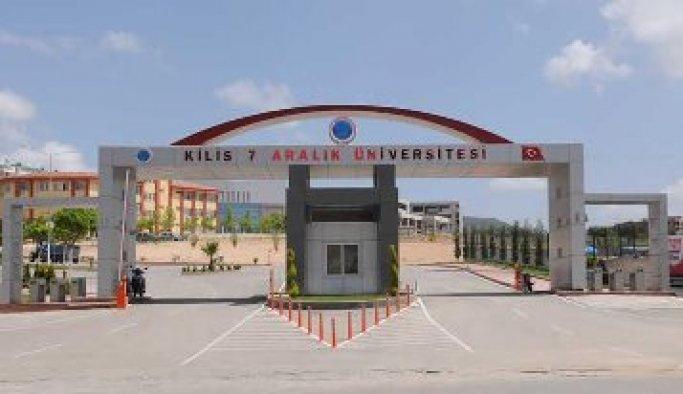 Kilis 7 Aralık Üniversitesi'nde personele soruşturma