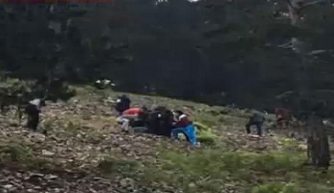 Giresun'da komutanları taşıyan helikopter düştü: 7 ölü, 8 yaralı