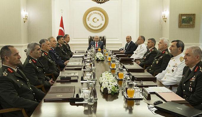 Yüksek Askeri Şura'ya yeni üyeler