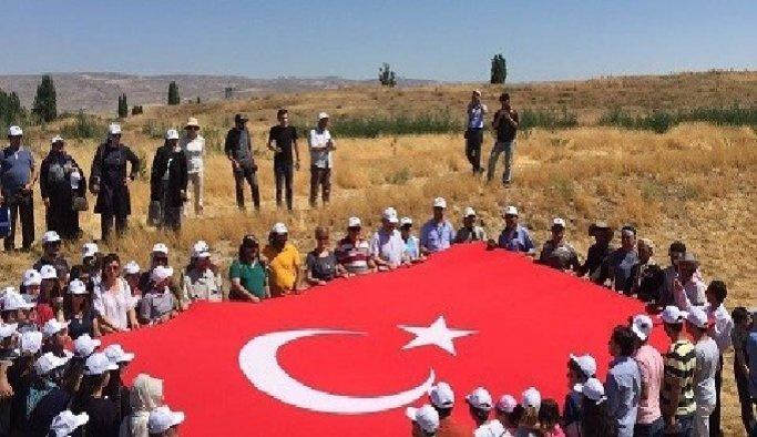 Kültepe'de protesto