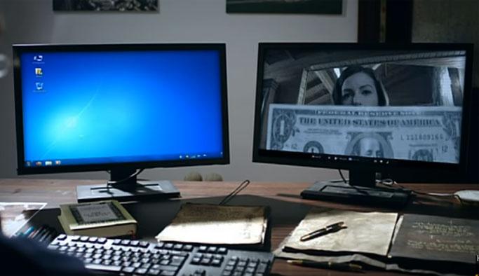 Kurtlar Vadisi'nde 1 dolar sahnesi VIDEO