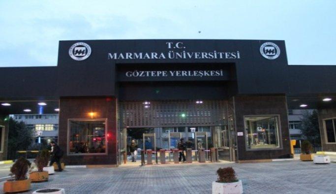 Marmara Üniversitesinde 84 personel açığa alındı