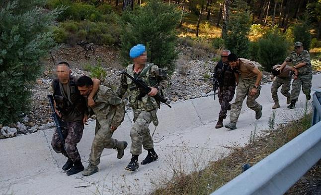 Marmaris'te yeni askeri malzemeler ele geçirildi