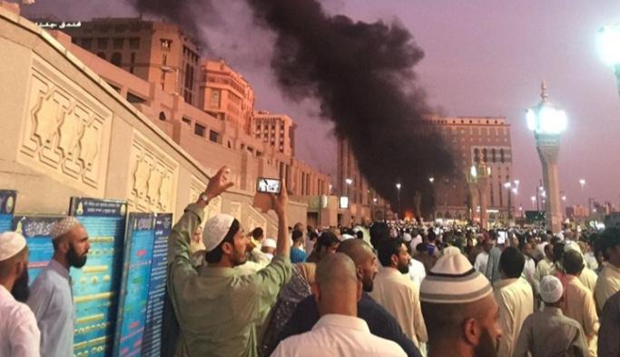 Medine'de intihar saldırısı FOTO