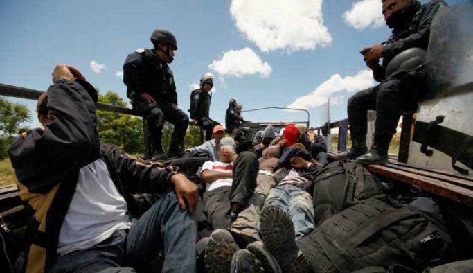 Meksika'daki protestolar iş güvenliğini etkiliyor