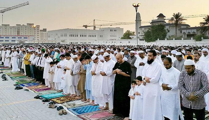 Birçok İslam ülkesi bayramı bugün kutluyor