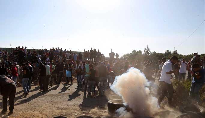 Mescid-i Aksa'ya giriş 'savaşı'