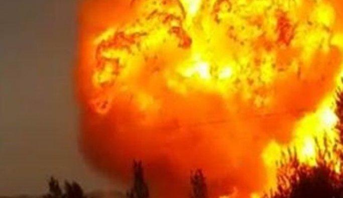 Nijerya'da doğalgaz boru hatında patlama