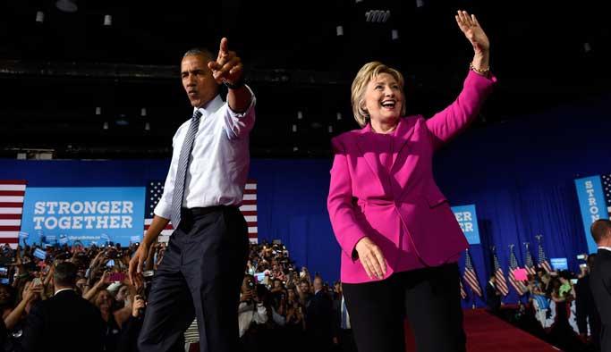 Obama, Clinton için oy çağrısında bulundu