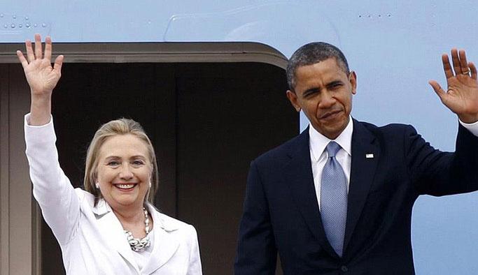 Obama mitinge katıldı, Clinton'a oy istedi