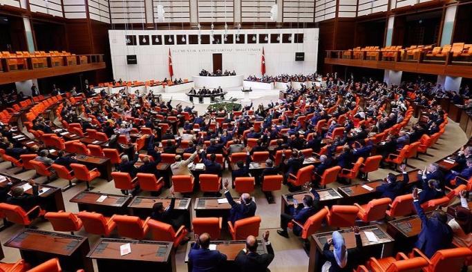 OHAL tezkeresi 346 oyla kabul edildi