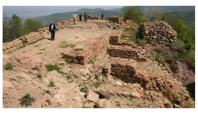 Ordu Kurul Kalesi'nde kazılar yeniden başladı