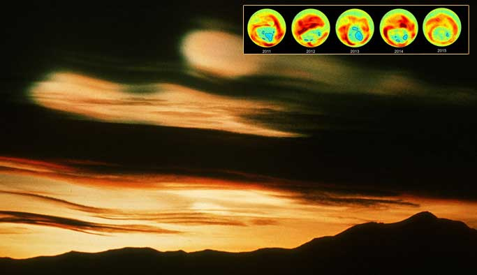 Ozon deliğinden iyi haber
