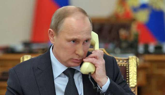 Putin'den Erdoğan'a 'geçmiş olsun' telefonu