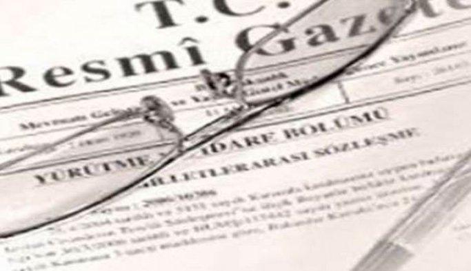 Rektör atamalarının Resmi Gazete'de yayımlanması
