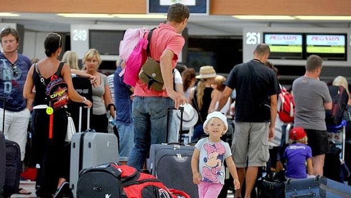 Rus turist  Türkiye'den vazgeçmedi