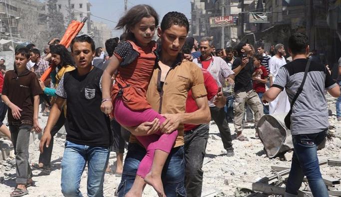 Rusya'dan Halep sivilleri için koridor