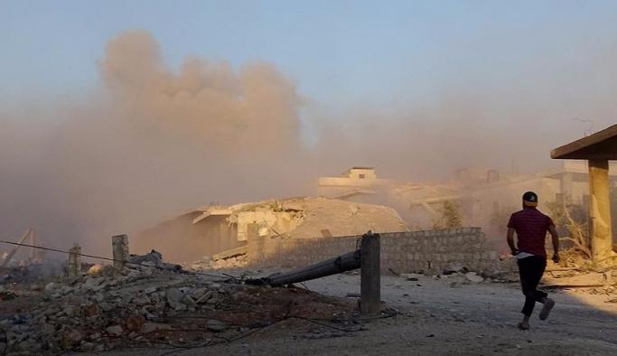 Rusya Halep'te sivilleri vurdu: 19 ölü