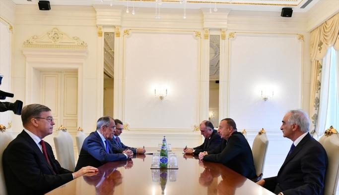 Rusya Dışişleri Bakanı Lavrov Azerbaycan'da