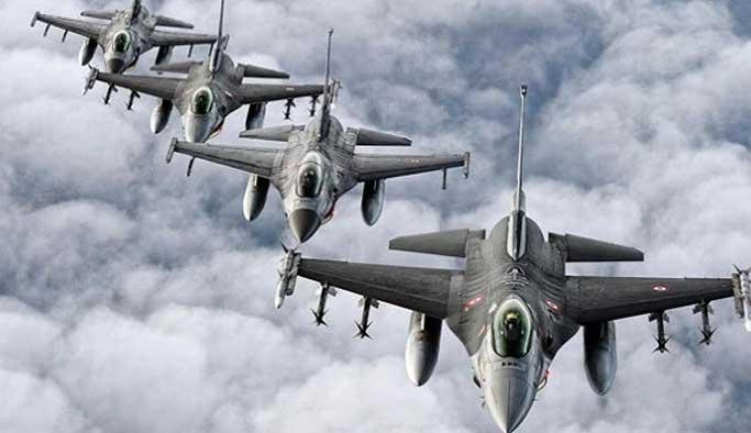 Savaş uçakları PKK kamplarını vurdu