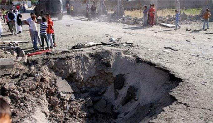 Siirt'teki patlamanın şiddeti