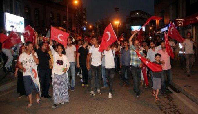 Sırbistan'dan Erdoğana destek gösterisi
