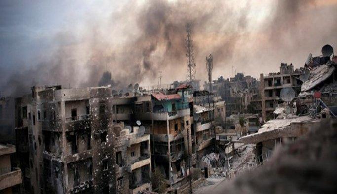 Suriye'nin Halep kentinde rejimin hastanelere yönelik saldırıları