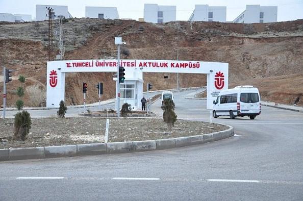 Tunceli Üniversitesi'nde 10 personel açığa alındı
