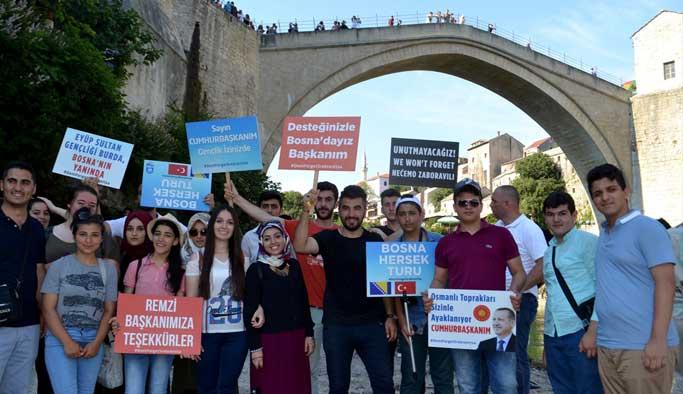 Türk öğrencilerden Bosna'ya dayanışma ziyareti