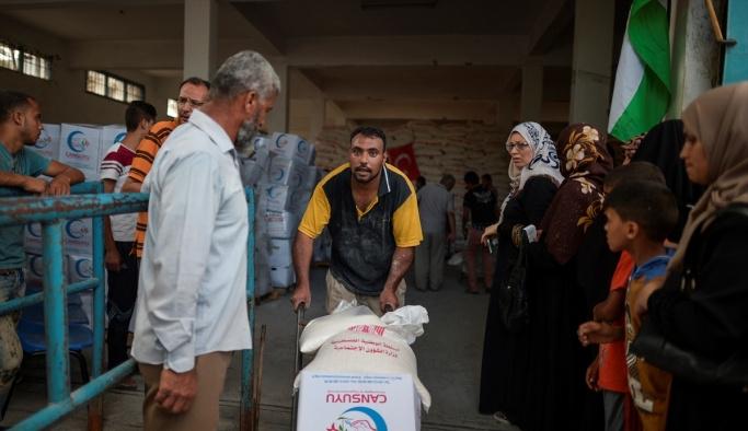 Türkiye'den Gazze'ye gönderilen insani yardım