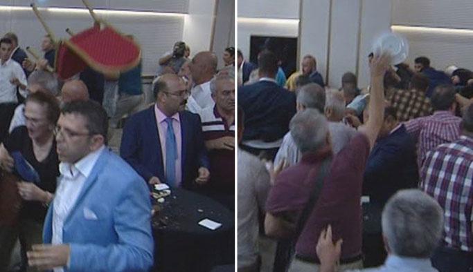 Ülkücüler Akşener'in 'paralel' toplantısını bastı