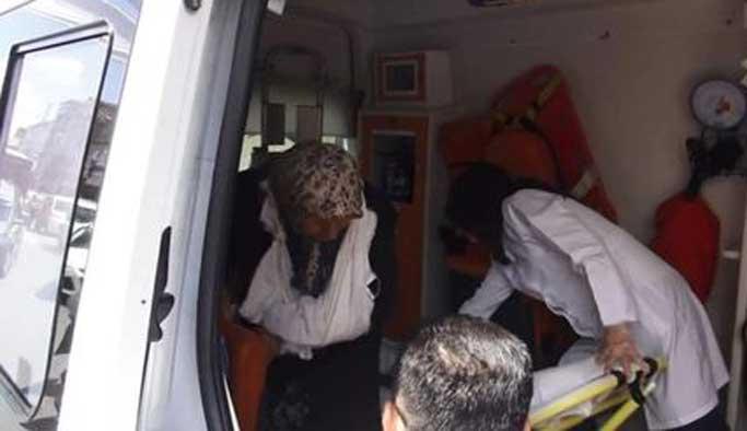 Ümraniye'de canlı bomba izdihamı
