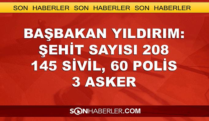 Yıldırım: CHP, MHP ve HDP'ye teşekkürler
