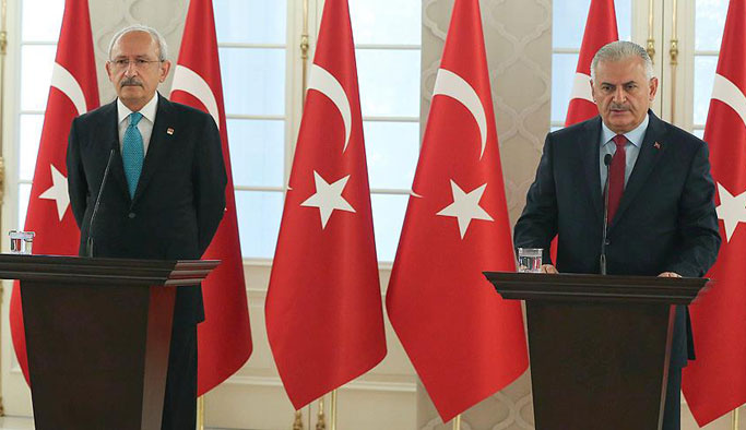 Yıldırım ile Kılıçdaroğlu'dan ortak açıklama