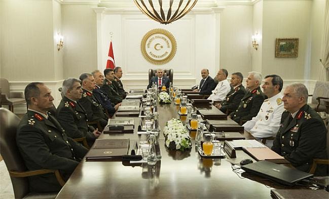 Yüksek Askeri Şura toplantısına dair ilk kez bilgiler paylaşıldı