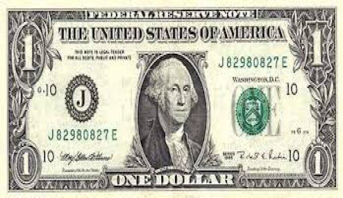 'Yurt ablasının' cüzdanından da 1 dolar çıktı