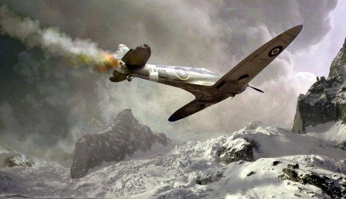 ABD'de uçak düştü