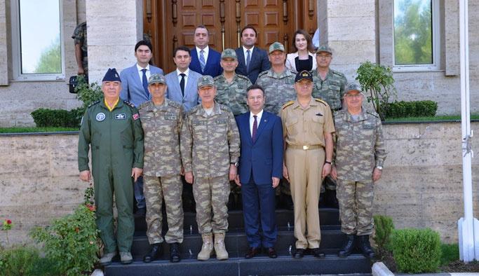 Akar ve Kuvvet Komutanları Diyarbakır'da