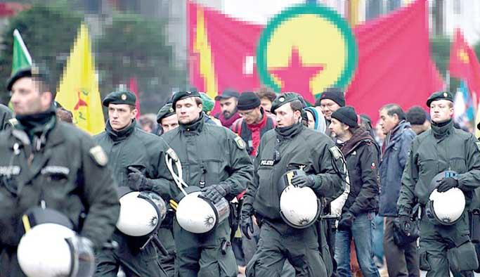 Almanya'dan PKK'ya 'iptal' şoku